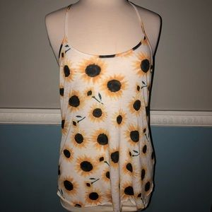 UO || sunflower cami tank top